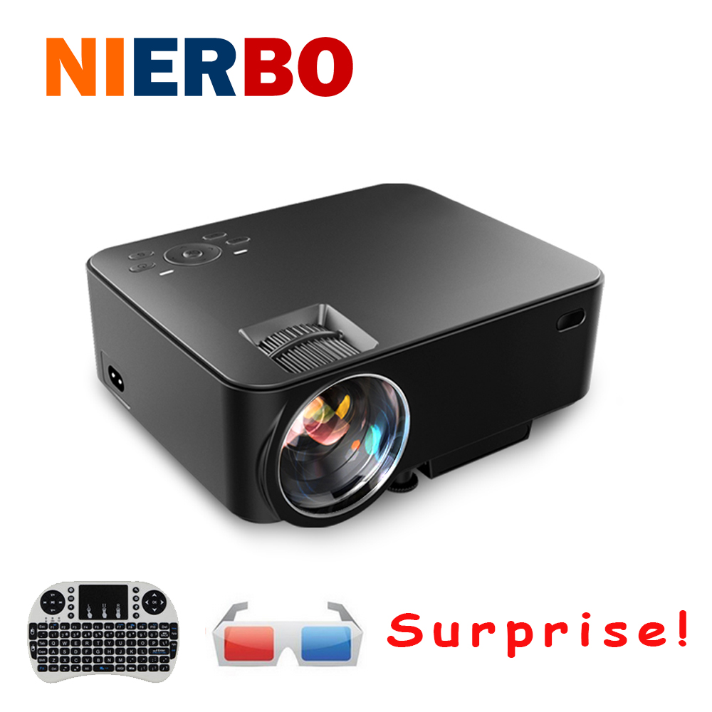 Wifi Wireless font b Android b font 4 4 Projector 1080P Full HD Home Theater Mini
