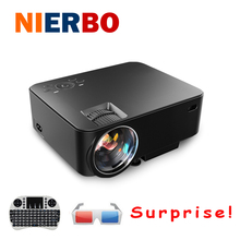Wifi Wireless Android 4.4 Projector 1080P Full HD Home Theater Mini LED LCD Projector for Video Games TV Movie Support HDMI AV