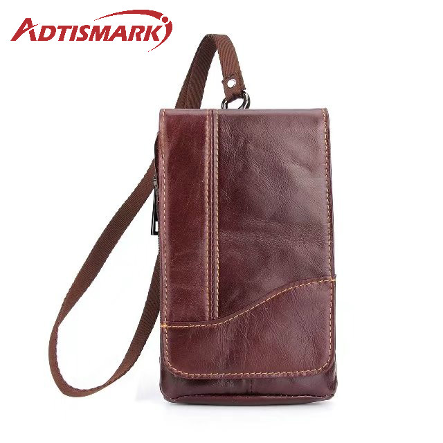 Adtismark Leather Pouch Belt Clip Hook Loop Shockproof Phone Case Cover Bag Holster For Multi Smart Phone Smartphone