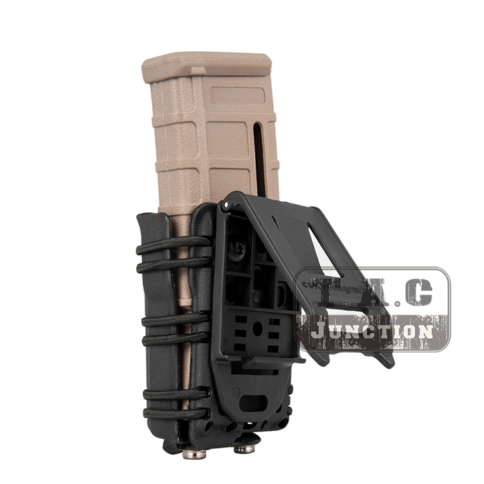 Image 3 - Emerson Tactical MOLLE and Belt Clip M4 M16 / AR15 556 5.56 .223 Mag Pouch Emersongear Magazine Carrier Holder-in Holsters from Sports & Entertainment