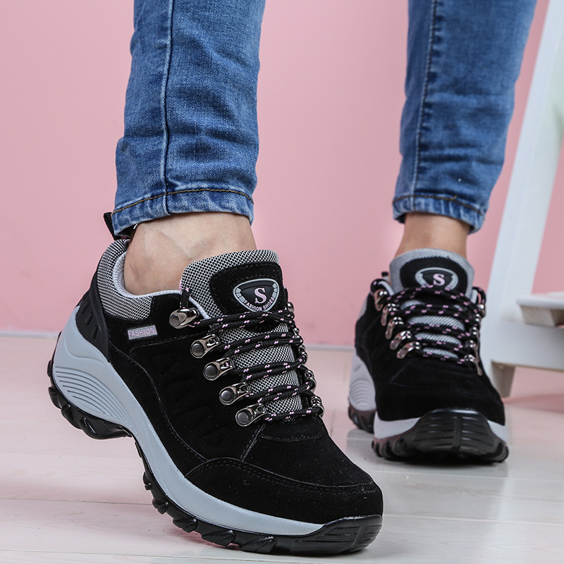 Krasovki Sneakers Women Spring Summer Leisure Dropshipping Increase Breathable Thick Bottom Slope Outdoor Fashion Women Shoes in Women 39 s Vulcanize Shoes from Shoes