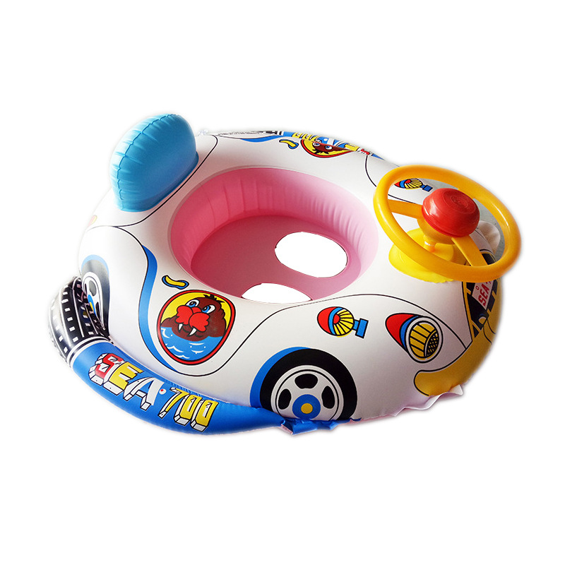 Pool Chair Baby 2018 Adjustable Inflatable Baby Kid Boy Float Seat Car Boat Swim Pool Ring Wheel Baby Zwemband