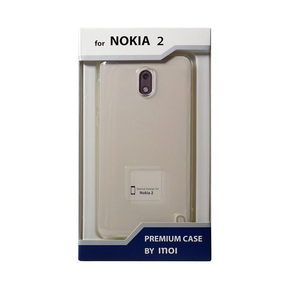 Чехол-накладка Inoi Premium case для Nokia 2, силиконовый (TPU), прозрачный