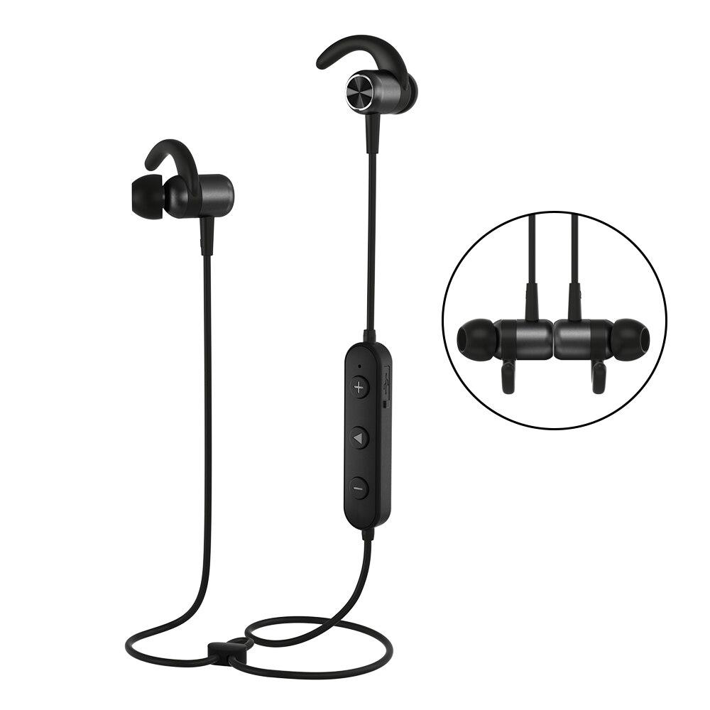 Gusgu Bluetooth Earphone Wireless Magnet Earbuds With Microphone Stereo Sports Bluetooth Headset For Iphone Xiaomi Huawei Bluetooth Earphones Headphones Aliexpress