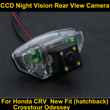 CCD Night Vision Parking Rear view Camera for Honda CRV 2007 2008 2009 2010  Crosstour Odessey 2009 New Fit Car Backup Camera