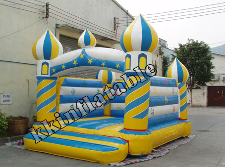 commercial magic lamp inflatable jumping castle magic amazing jumping arrow black white