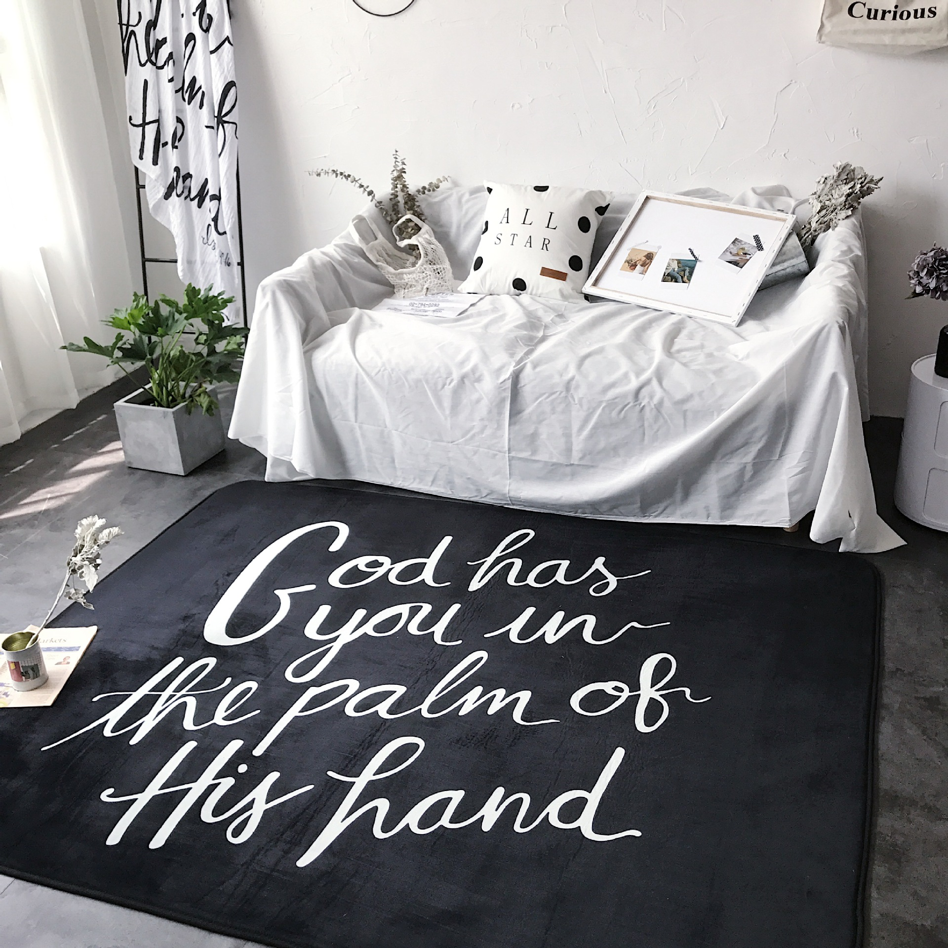 2017 New Carpets for Living Room Nordic Minimalist Style Carpet Rugs Cartoon Kids Room Floor Carpet Child Christmas Gift