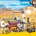Военная игра pubg Battlefield moc сцен строительный блок боевой электростанции batisbricks армейские фигурки пикап Кирпичи Игрушки