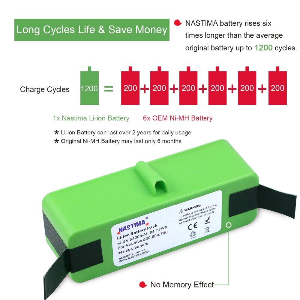 Baterias Recarregáveis 800, 980 séries e scooba Conjunto : Pacote 1