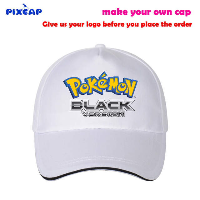 Pixcap Pokemon GO snapback Caps Adjustable Head Circuference 1 Size Fit All  Cotton Travel Hat Monster Adult Cap with Own Logo 7e43a504f63