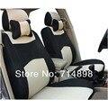 Sándwich transpirable asiento de coche universal cubre para 5 asiento del coche con 4 o 5 reposacabezas del asiento trasero de nuevo 40/60 folden función o no