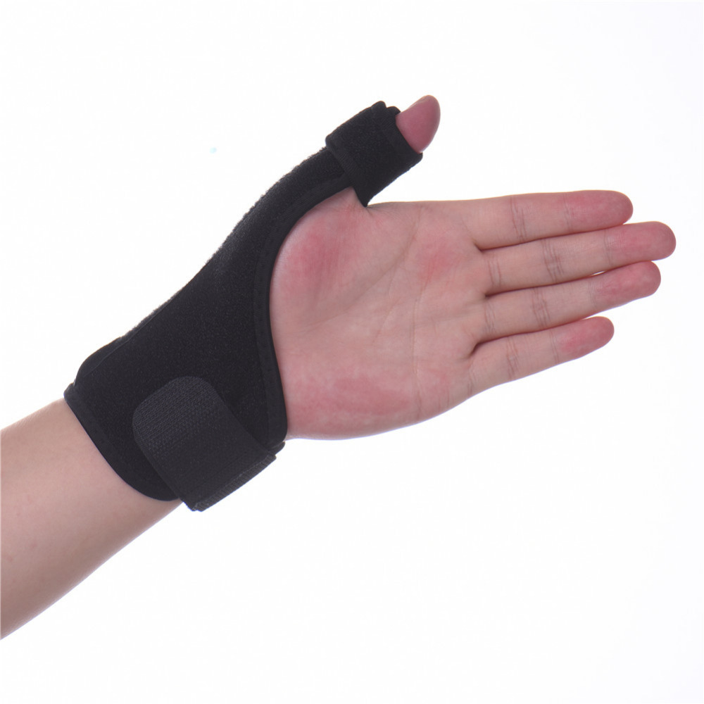 Medical Wrist Elastic Thumb Wrap Hand Palm Wrist Brace Splint Support Arthritis Pain Sport Training Thumb Fitted Correction chain print tie waist wrap fitted jumpsuit