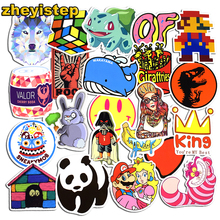 50 Pcs Mixed Stickers for Bicycle Motorcycle Car Styling Skateboard Laptop Luggage Home Decor Decals Funny Toy Doodle Sticker
