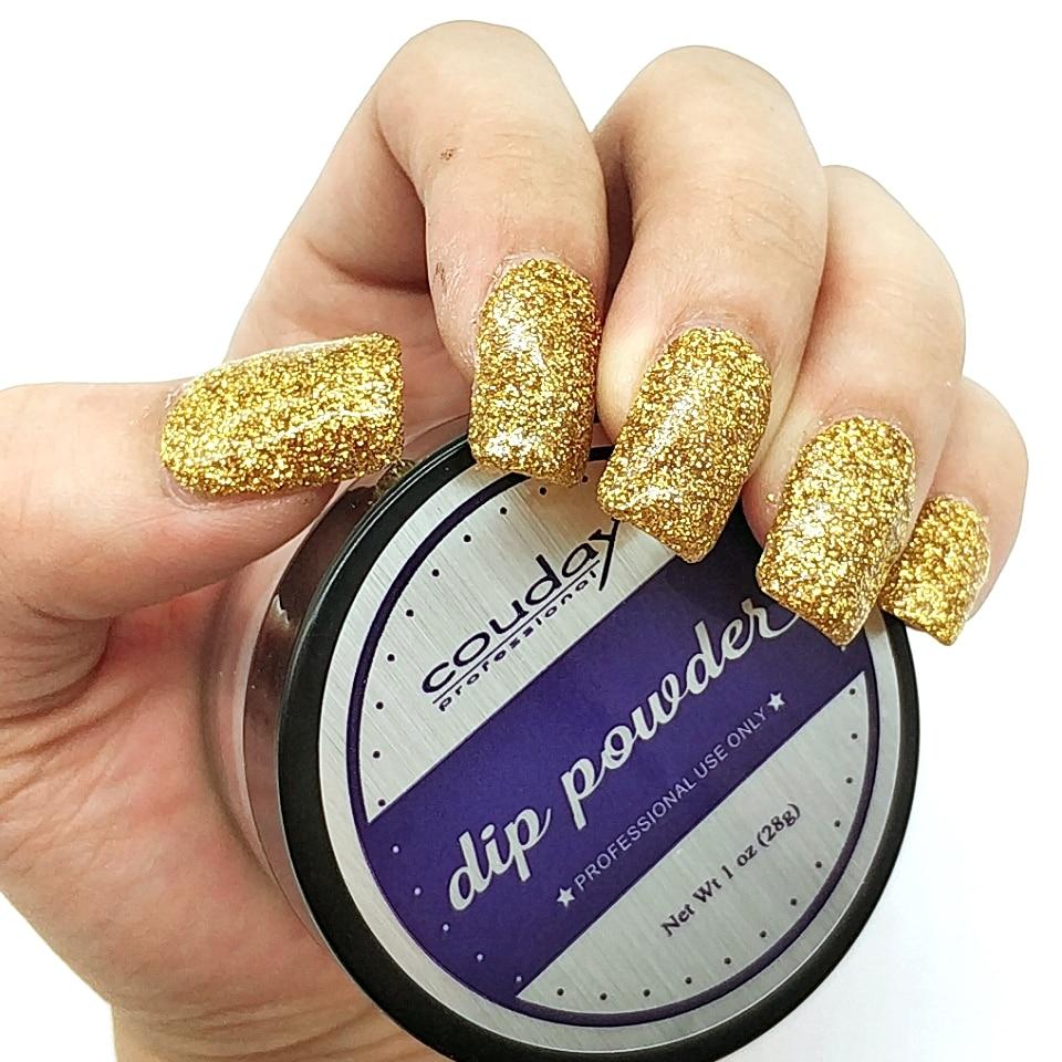 Nail Dip Powder Erfahrung: Colorful Dipping Powder Without Lamp Curing Natural Dry