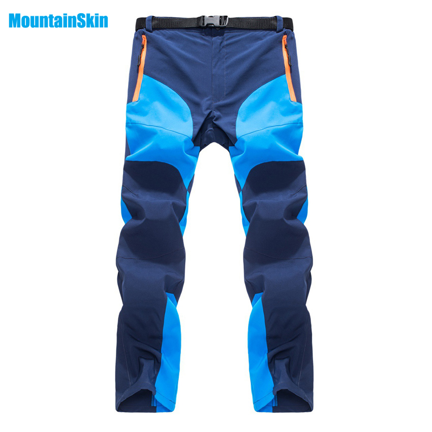 Mountainskin Men Summer Quick Dry Breathable Pants Outdoor Sports Waterproof Camping Hiking Fishing Cycling Male Trousers MA113 цена