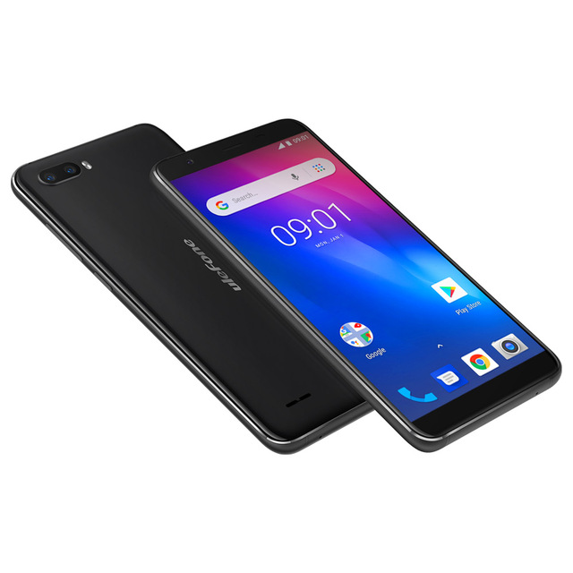 Original Ulefone S1 3G WCDMA Mobile Phone Android 8.1 1GB+8GB Quad Core Smartphone Face ID Dual Rear Cameras 5.5 inch Cell Phone