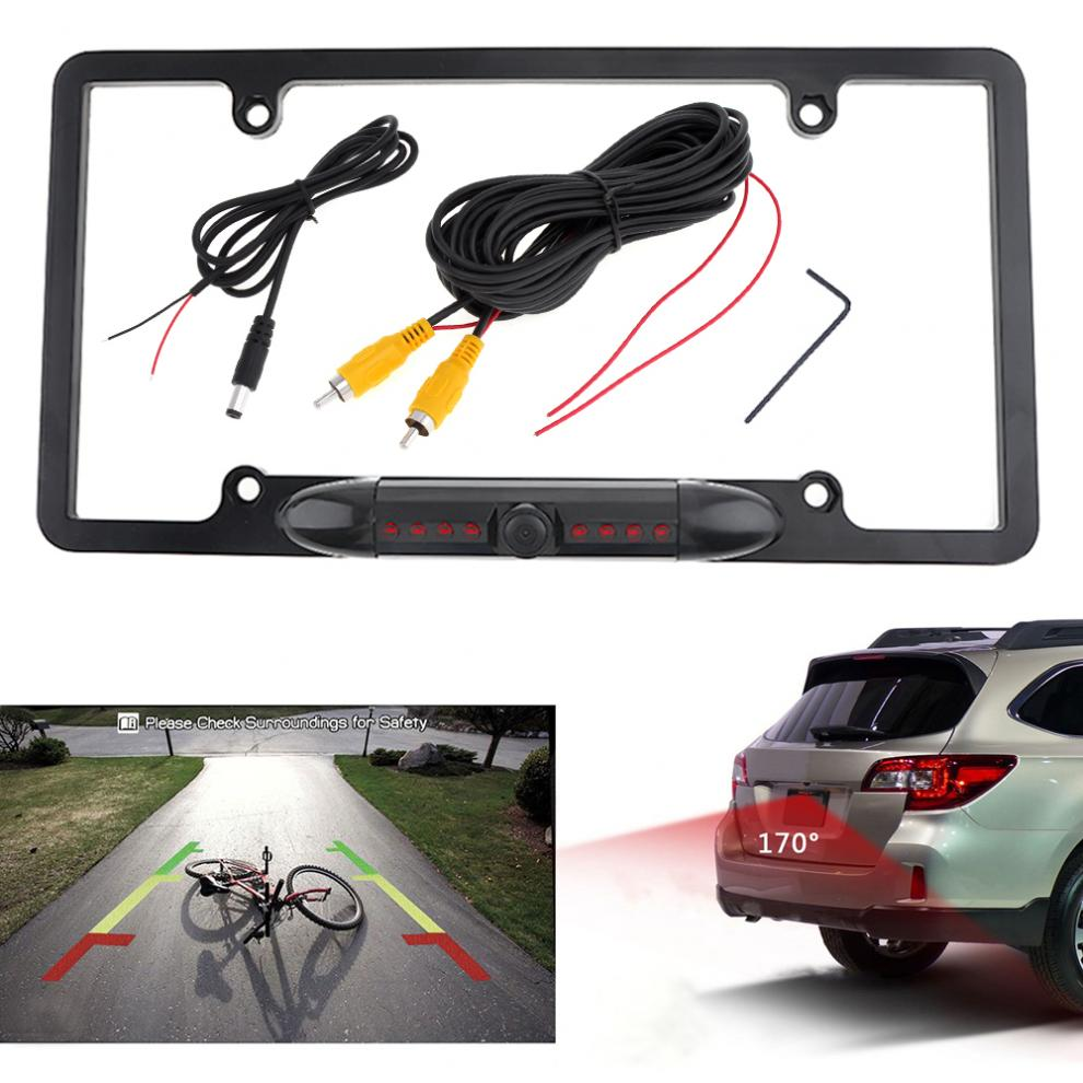 Consumer Electronics 1x 4led Ir Night Vision Car Reversing Rear View Dynamic Trajectory Camera Safety Rear View Monitors/cams & Kits