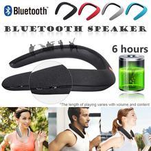 Wireless Bluetooth Portable Mp3 Player Neck Novelty Bluetooth  Wearable Speaker Subwoofer Magic Bluetooth Sports Speaker 11.11
