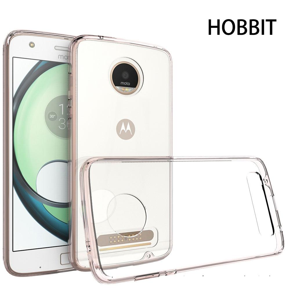 Motorola Moto Z2- ի համար Play XT1710 Transparent TPU Silicone - Բջջային հեռախոսի պարագաներ և պահեստամասեր - Լուսանկար 2