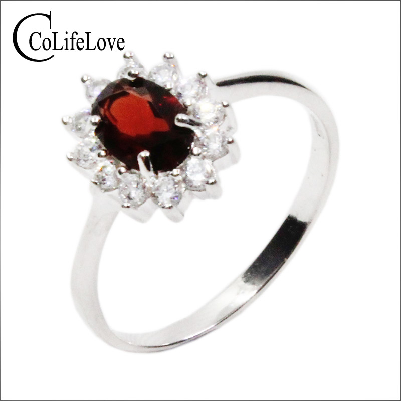 EXQUISITE GENUINE AFRICAN SKY TOPAZ 925 STERLING SILVER RING SIZE 5-10