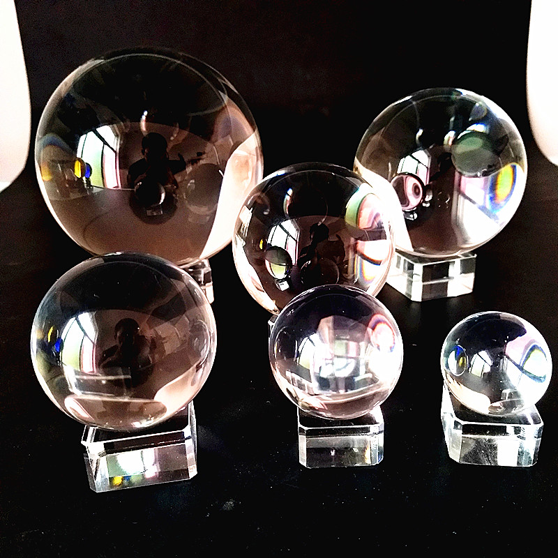 30mmto100mm Wedding Photography Transparent Glass Ball Home Decoration Ball K9 Crystal Ball Wholesale