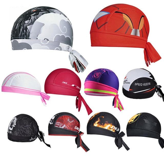Deportes al aire libre mujeres hombres bicicleta Bandana sombrero ...