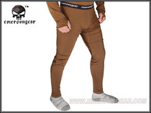 Emersongear Breathable Warm Underwear Thermal Underwear Velvet Ware Pants Durable Fitness Trousers Outdoor Hunting Pants CB