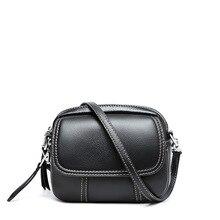 цены Luxury Handbags Black Small Red Women's Shoulder Bag Genuine Leather Cute Bags For Women 2019 Brown Mini Female Crossbody Bags