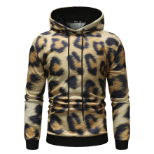 Ha ha funny, 3d-printed mens sports leopard print hoodies hip-hop fun fall street wear high-quality funny