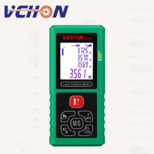 Big discount VCHON 40M 60M 80M 100M anti-drop handheld laser range finder Optical Tape Range Finder Diastimeter Measure Roulette 60M lazer me