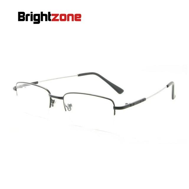 f0a5af322a91b Pernas Flexíveis Óculos de Titânio Memória Aro completo Óculos Homens  Prescrição Rx Espetáculo Frame Ótico Oculos