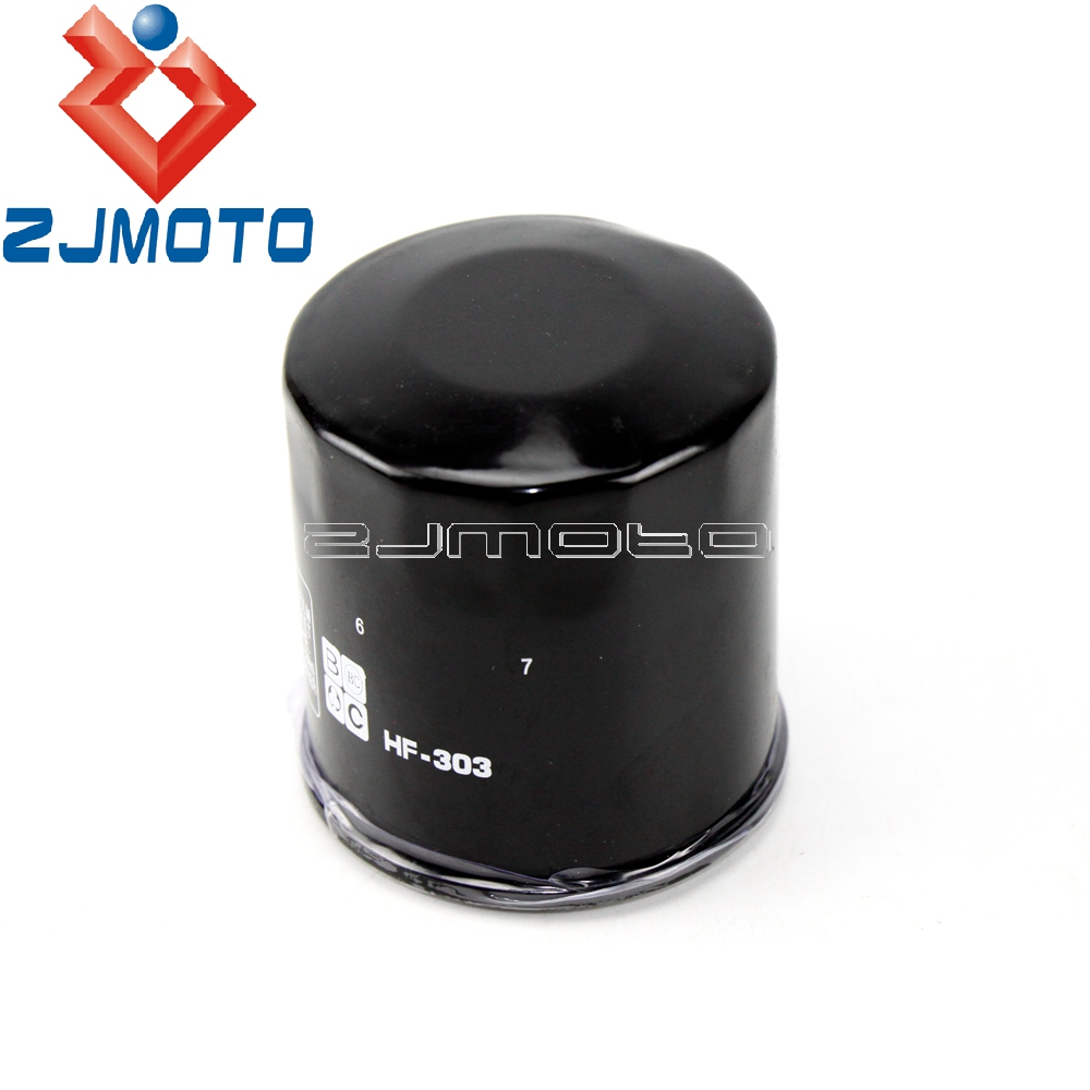 HIFLO OIL FILTER FITS KAWASAKI Z750R NBF NCF ZR750 BLACK 2011-2012