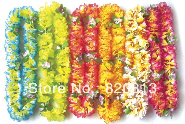 2016 Party wedding supplies hawaiian flower lei hot sale