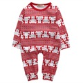 Bebé recién nacido Niños Niño Niña Oso de Algodón de Manga Larga Casa Ropa de Dormir Pijamas Ropa de Noche Del Bebé Del Mameluco Del Bebé Del Mameluco Outfit Set