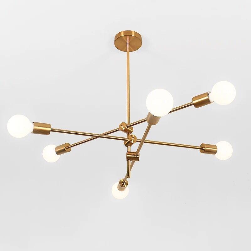 Nordic lustre sala de estar lâmpada led