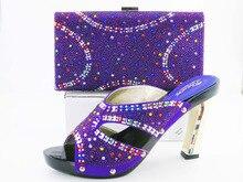 SG16-101Fashion Italienische Frau Passenden Schuhe Und Tasche Set Für Party, Hochwertige Schuhe Und Taschen für Hochzeit