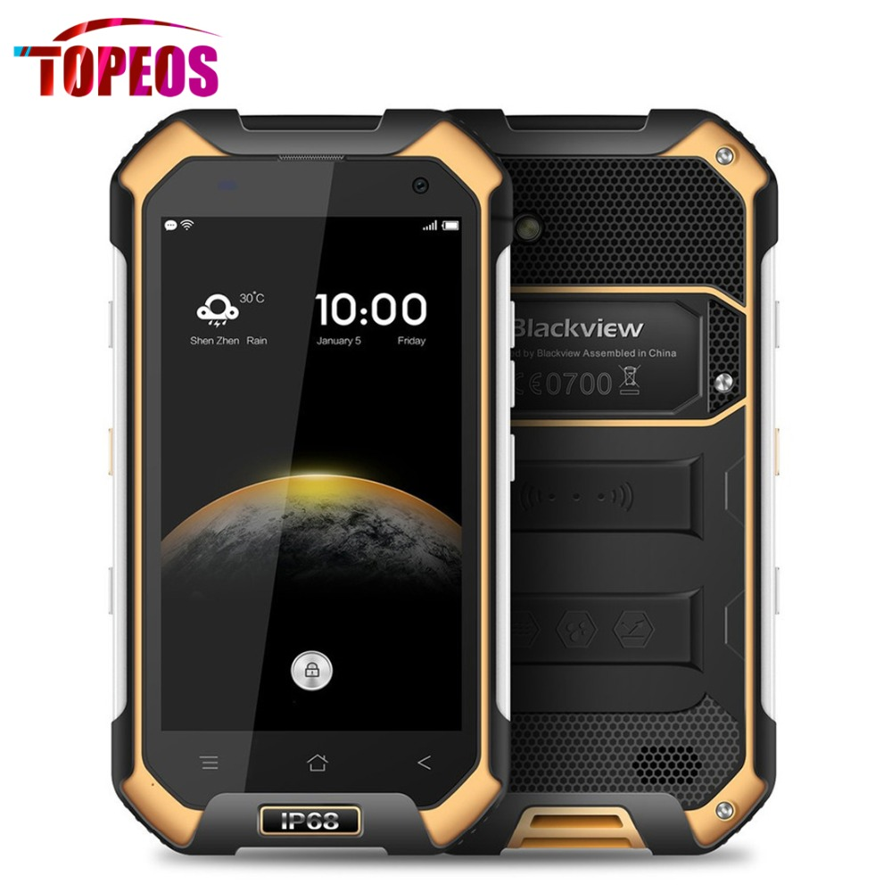 Blackview BV6000S 4.7 Inch Smartphone MTK6735 Quad Core 2GB RAM 16GB ROM Android 6.0 4G LTE 3G WCDMA 4500mAh Battery