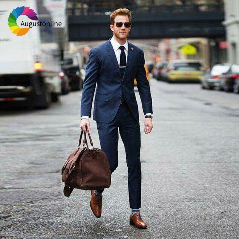 1 Men Suits Wedding Suits Costumes Mariage Homme Men\`s Wedding Suits Terno Masculino Costume Homme Mariage Men Suit with Pants Best Man Blazer Masculino Men\`s Suits Slim Fit Custom Made men suits (32)