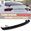 Углеродное волокно универсальный стиль спойлер на задний багажник  крыло для BMW 2 3 4 5 6 7 серии F22 F87 E90 E92 F30 F32 F36 & M2 M3 M4 M5