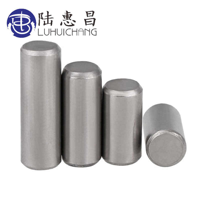 M4 304 Stainless Steel Round Cylindrical Pin Parallel Locating Solid Straight Retaining Dowel Rod Fasten Retaining Pins