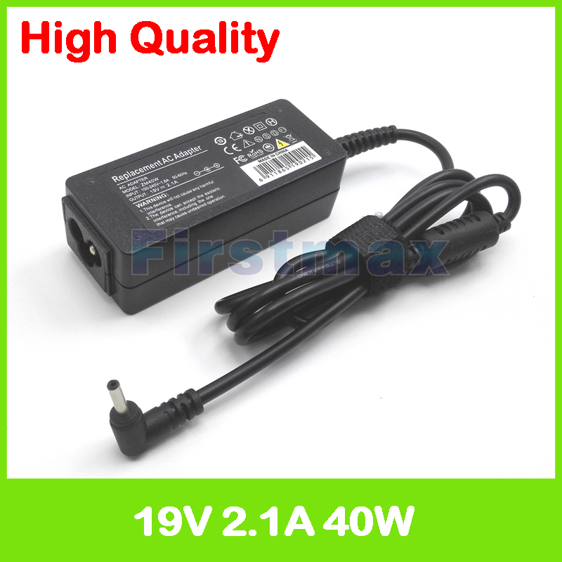 40W 19V 2.1A AC power adapter for Samsung ATIV Q NP980Q3G-K03US Smart PC Pro XE700T1A ChromeBook XE500 charger