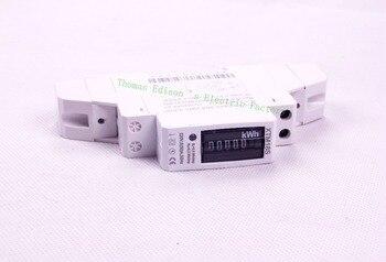 Solo la fase dos de medidor de energía 5 (30) 50 HZ 220 V 230 V vatios hora analógica medidor KWH