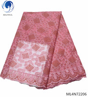 BEAUTIFICAL lace african fabric 2019 tulle french women lace fabrics material lace ML4N722