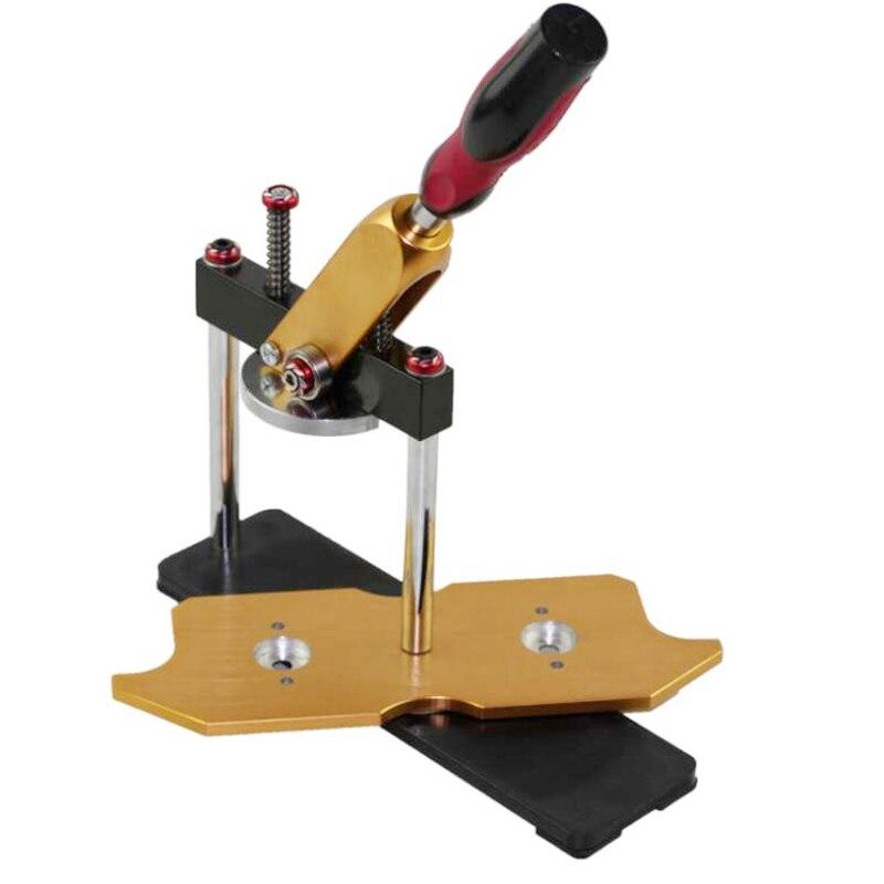 USPS доставка Производитель значков форма для машины круг резак дырокол для металла Инструмент
