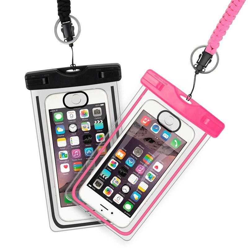 Waterproof Phone Cover Bags Water Proof Beach Bag Outdoor Rafting Bag Impermeabile Swimming Is Waterproof Impermeable Bolsos