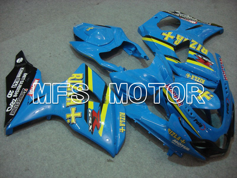цены For Suzuki GSXR 1000 K9 2009 2010 2011 2012 2013 Injection ABS Fairing Kits GSXR1000 K9 09-13 - Rizla+ - Blue