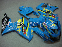 For Suzuki GSXR 1000 K9 2009 2010 2011 2012 2013 Injection ABS Fairing Kits GSXR1000 K9 09 13 Rizla+ Blue