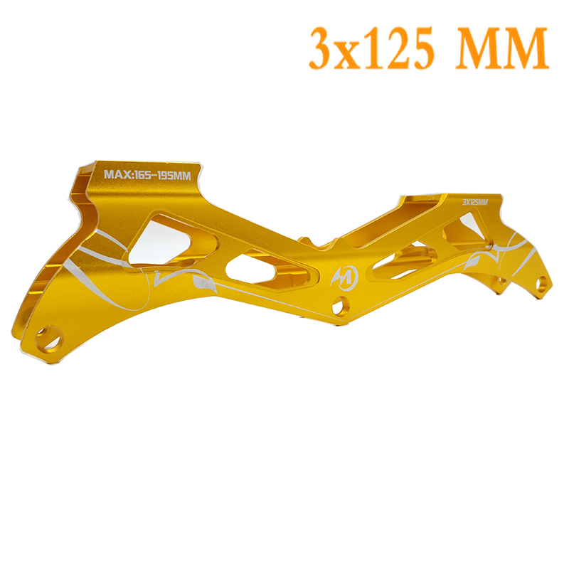 Free Shipping Speed Skates Frame 3x125 Mm 165-195