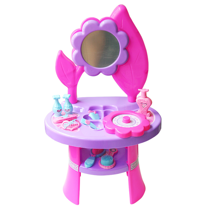 Superior Free Shipping Baby Girl Dressing Table Make Up Play Toys Set Pretent Play  Princess Vanity Flower Dresser Set Musical Mirror In Furniture Toys From  Toys ...