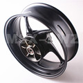 Motorcycle Rear Wheel Rim  For Triumph 2013-2014 Daytona 675R Street Triple R 2013-2014 Black New High Quality